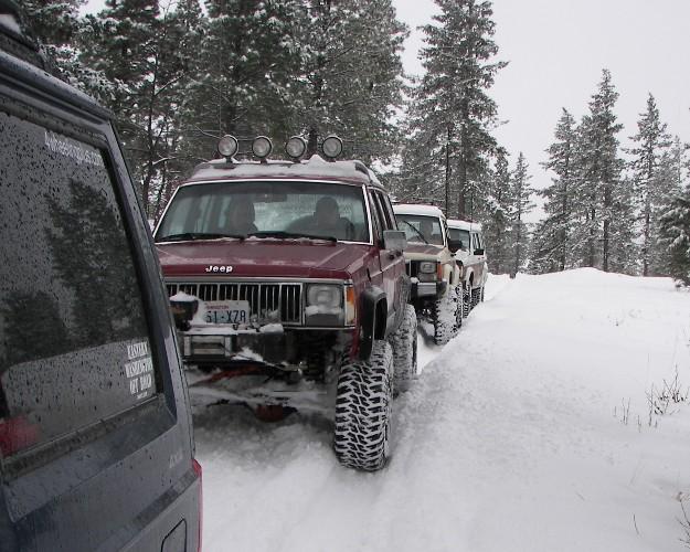 Photos: EWOR Pine Mountain New Year 4×4 Snow Run 3