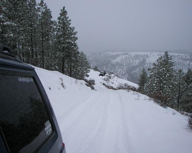 Photos: EWOR Pine Mountain New Year 4×4 Snow Run 7
