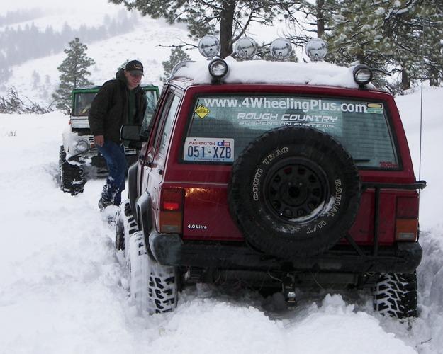 Photos: EWOR Pine Mountain New Year 4×4 Snow Run 10