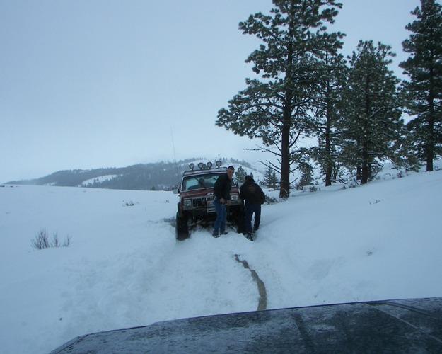 Photos: EWOR Pine Mountain New Year 4×4 Snow Run 12