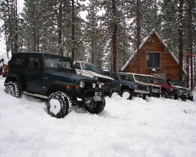 Photos: EWOR Pine Mountain New Year 4×4 Snow Run 19