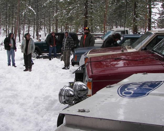 Photos: EWOR Pine Mountain New Year 4×4 Snow Run 21