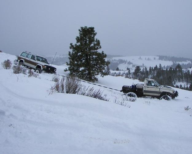 Photos: EWOR Pine Mountain New Year 4×4 Snow Run 24