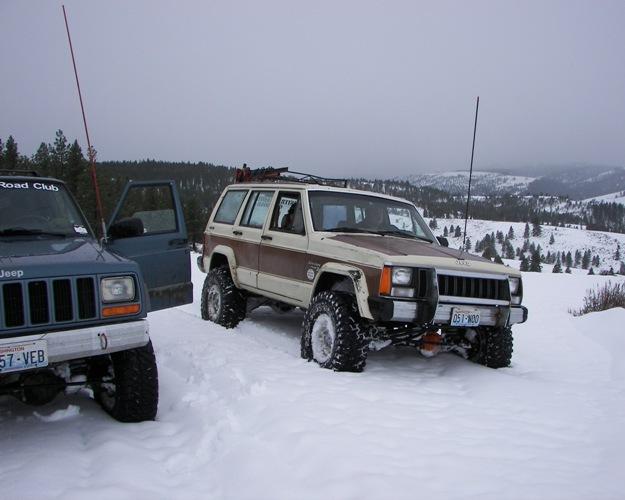 Photos: EWOR Pine Mountain New Year 4×4 Snow Run 34