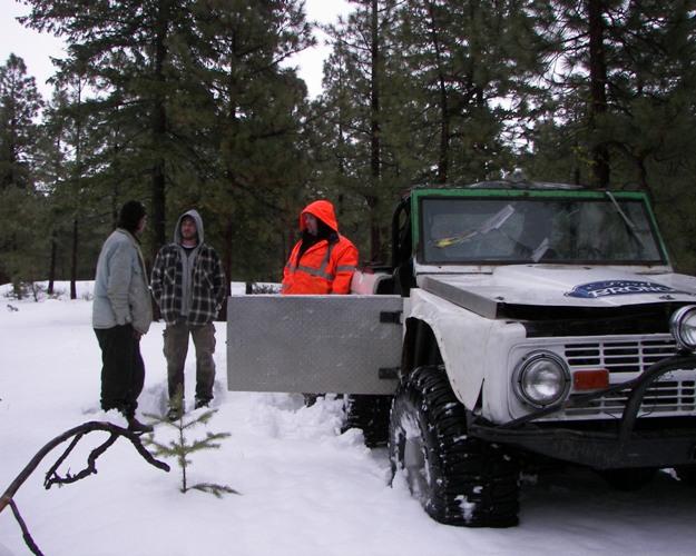 Photos: EWOR Pine Mountain New Year 4×4 Snow Run 47
