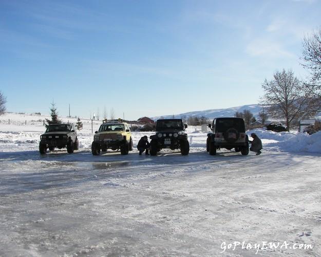 Photos: EWOR Sedge Ridge 4×4 Snow Run 1