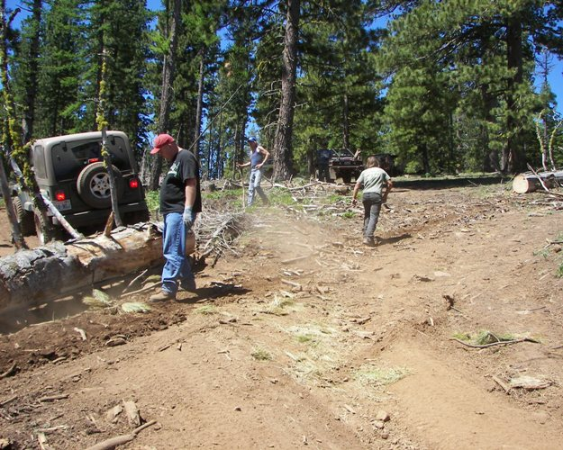 Photos: EWOR Ahtanum State Forest Green Dot Work Party Part 1 of 2 7
