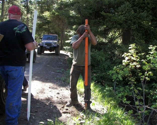 Photos: EWOR Ahtanum State Forest Green Dot Work Party Part 1 of 2 28
