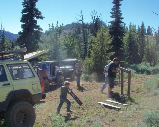 Photos: EWOR Ahtanum ORV Trail Maintenance Camp-out 38