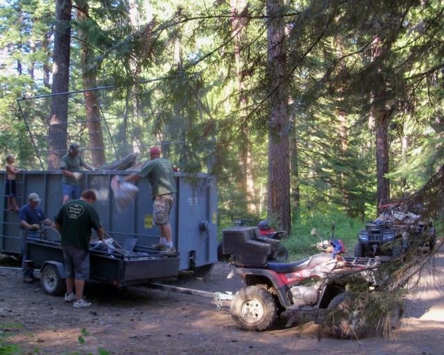 Photos: 2010 Ahtanum ORV Trails Clean-up 12