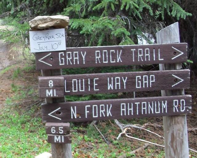 Photos: Grey Rock 50K Aid Station 1