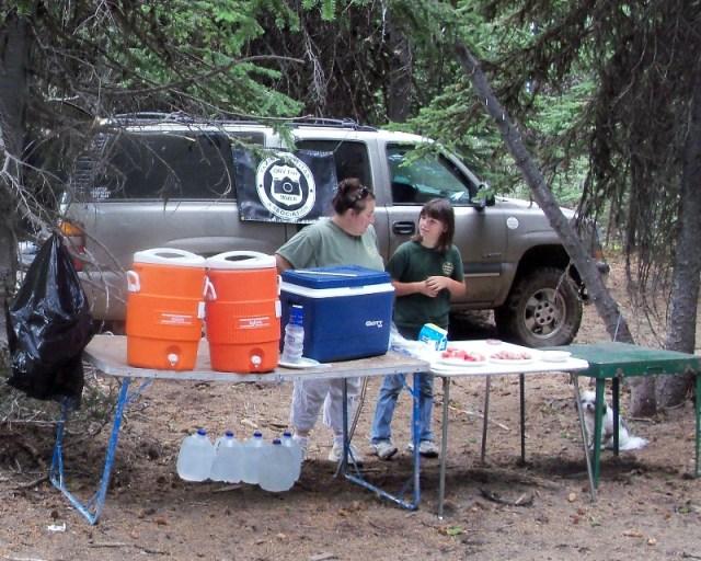 Photos: Grey Rock 50K Aid Station 4