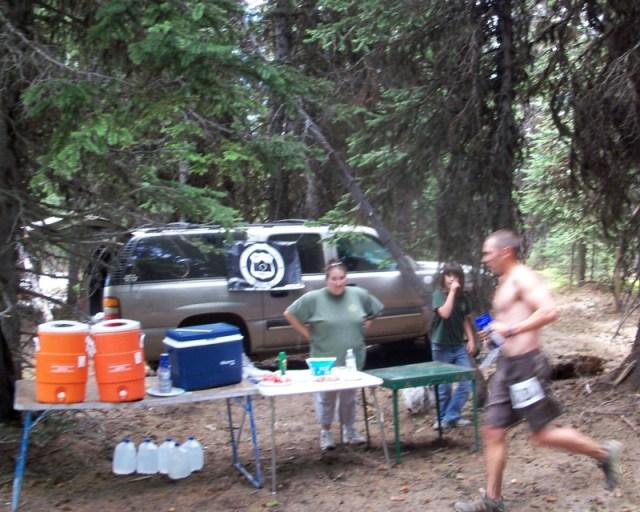 Photos: Grey Rock 50K Aid Station 6