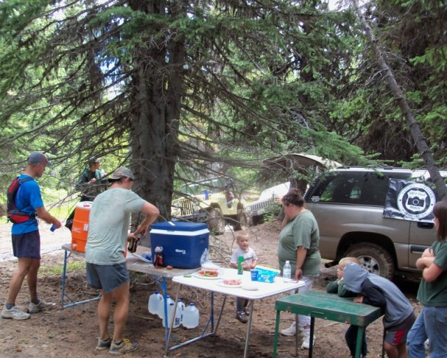 Photos: Grey Rock 50K Aid Station 14