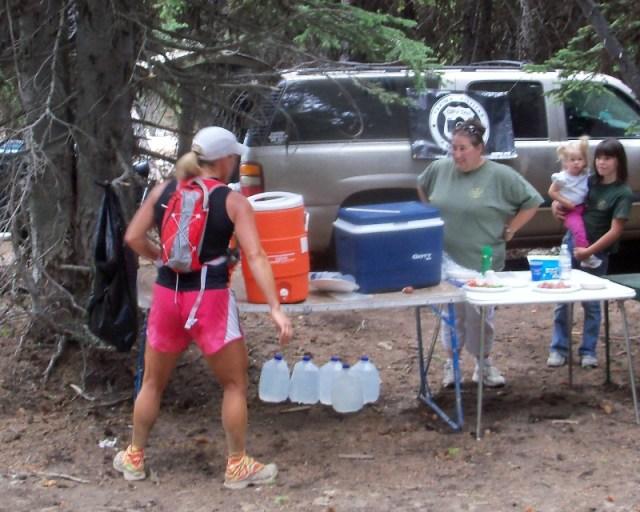 Photos: Grey Rock 50K Aid Station 16