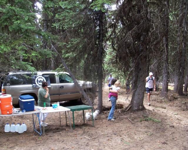 Photos: Grey Rock 50K Aid Station 19