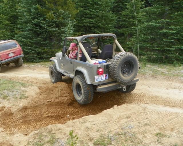 Photos: Trail 4W613 Work Day 16
