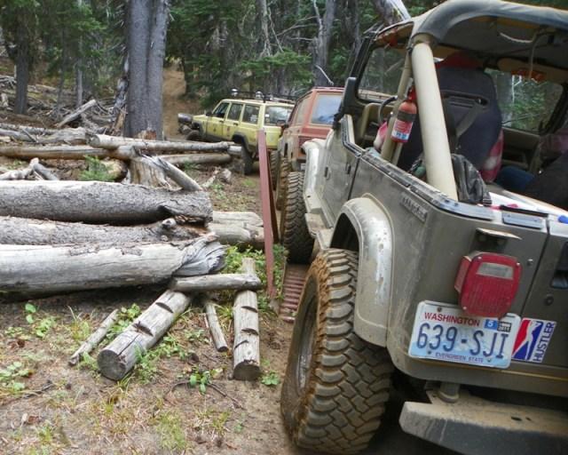 Photos: Trail 4W613 Work Day 56