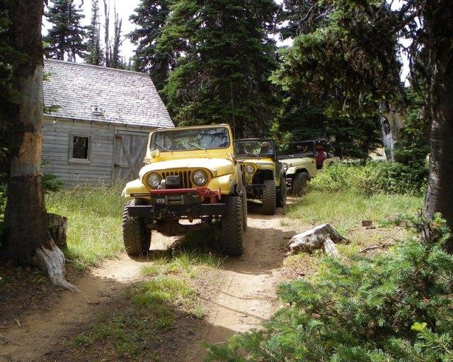 Photos: Yellow Jeep Run - Bethel Ridge 13