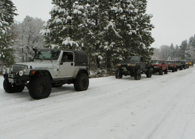 Photos: EWOR Thanksgiving 4x4 Run at the Ahtanum State Forest 2