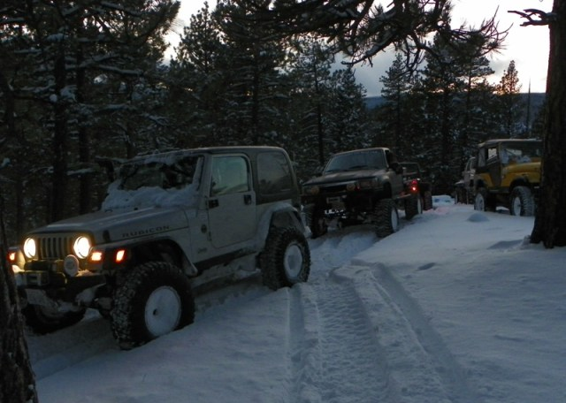 Photos: EWOR Thanksgiving 4x4 Run at the Ahtanum State Forest 60
