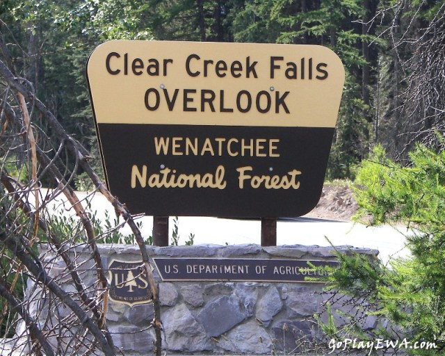 Clear Creek Falls Overlook