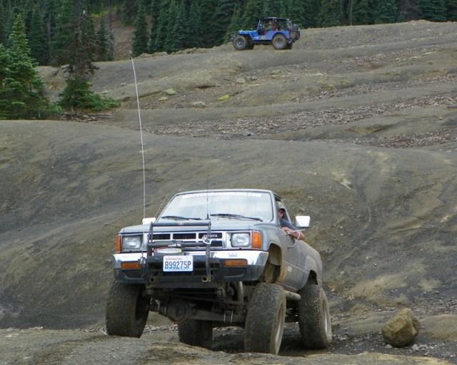 Photos: PNW4WDA Region 4 Pick Up A Mountain 45