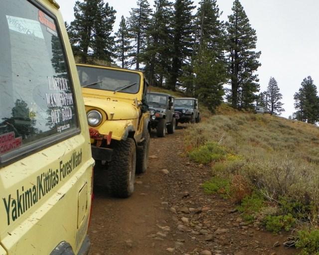Photos: PNW4WDA Region 4 Pick Up A Mountain 57