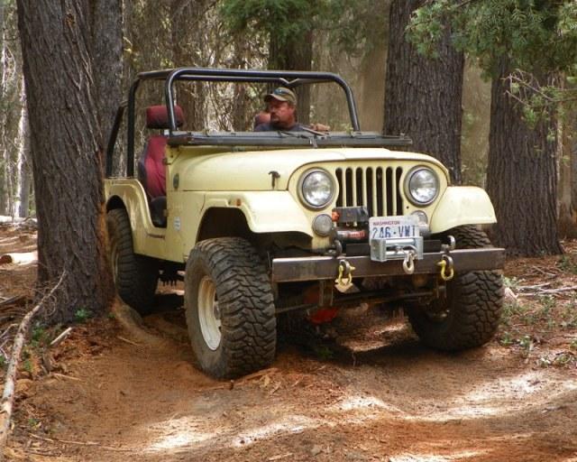 Photos: Yellow Jeep Run - Little Rattlesnake 61