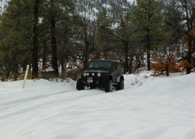 Photos: EWOR Sledding Backroads Run at the Ahtanum State Forest 7