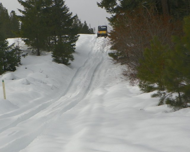 Photos: EWOR Sledding Backroads Run at the Ahtanum State Forest 10