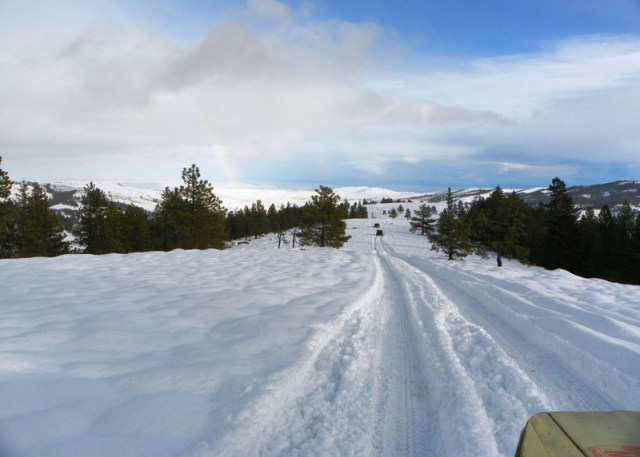 Photos: EWOR Sledding Backroads Run at the Ahtanum State Forest 40