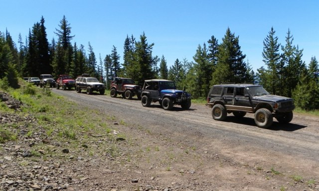 Pacific Northwest 4 Wheel Drive Association's 2011 Trail Jamboree – Day 3 of 5 21