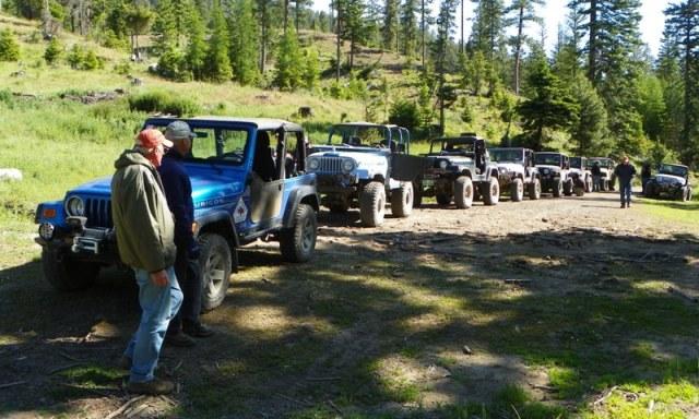 Pacific Northwest 4 Wheel Drive Association's 2011 Trail Jamboree – Day 4 & 5 of 5 4