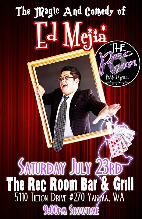 The Magic and Comedy of Ed Mejia 1