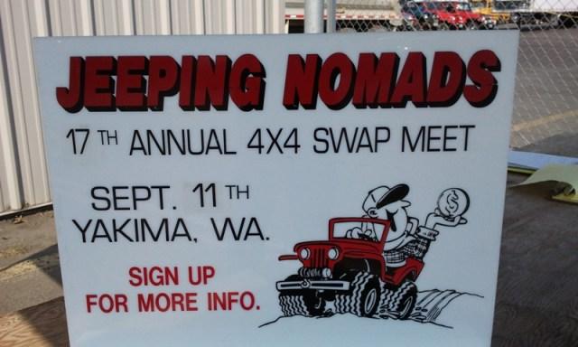 2011 Jeeping Nomads 4×4 Swap Meet 1