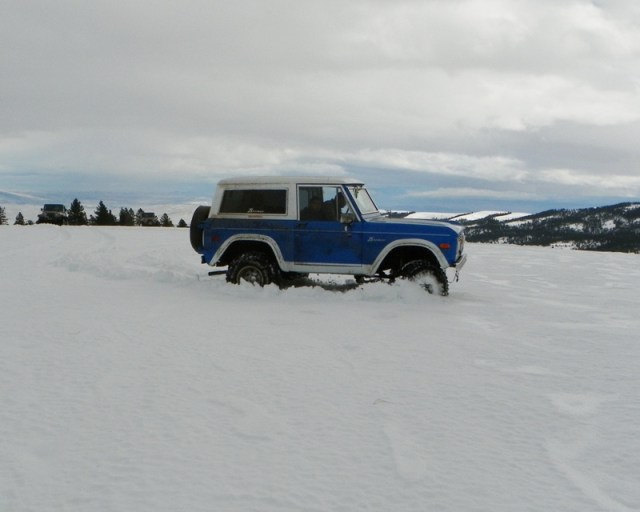 Sledding/Snow Wheeling Run at the Ahtanum State Forest 12