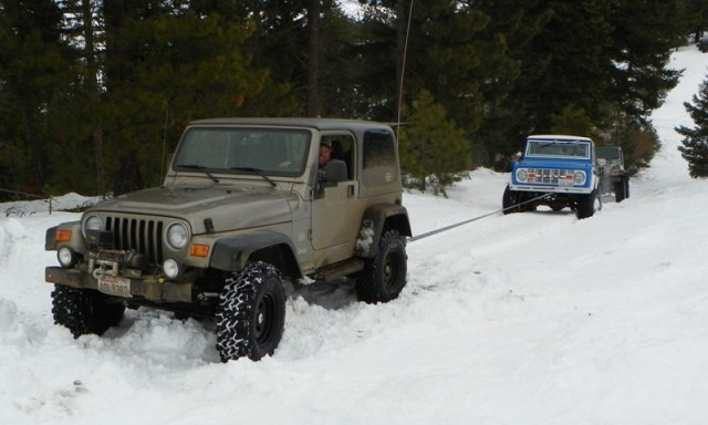 Sledding/Snow Wheeling Run at the Ahtanum State Forest 22