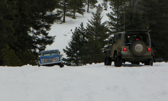 Sledding/Snow Wheeling Run at the Ahtanum State Forest 24
