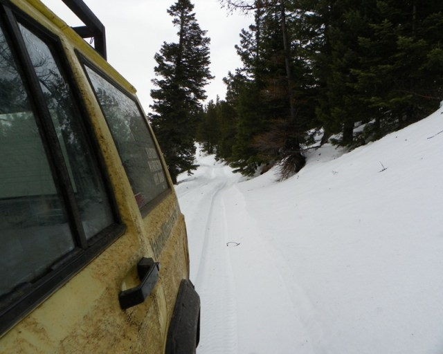 Sledding/Snow Wheeling Run at the Ahtanum State Forest 38