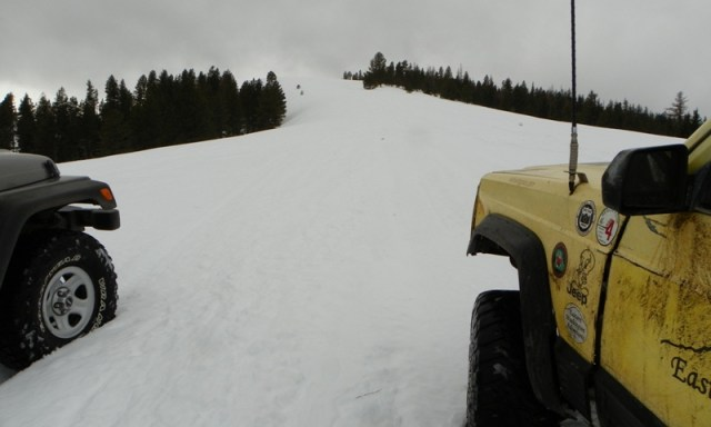 Sledding/Snow Wheeling Run at the Ahtanum State Forest 50
