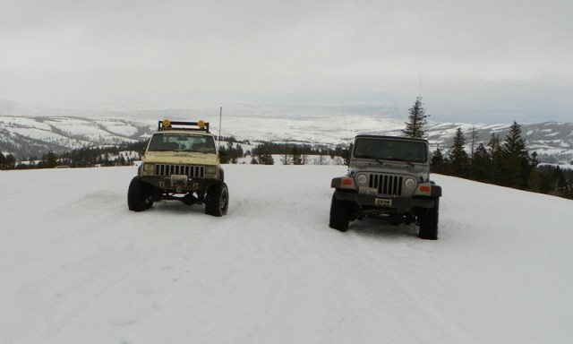 Sledding/Snow Wheeling Run at the Ahtanum State Forest 51