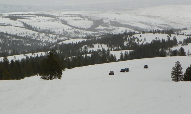 Sledding/Snow Wheeling Run at the Ahtanum State Forest 56