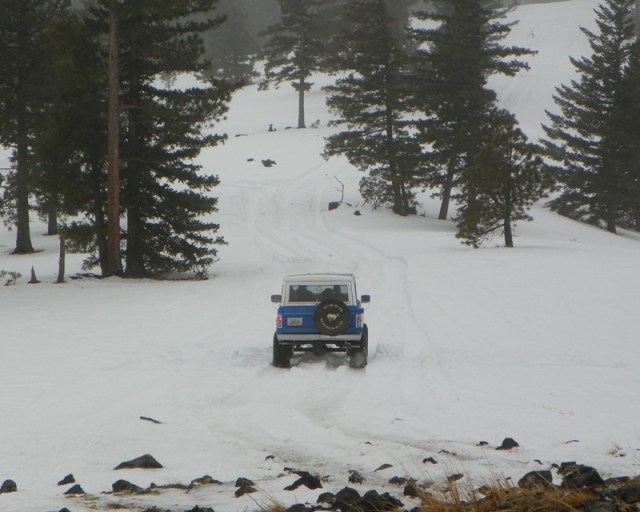 Sledding/Snow Wheeling Run at the Ahtanum State Forest 63