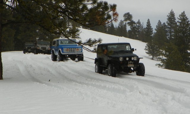 Sledding/Snow Wheeling Run at the Ahtanum State Forest 69