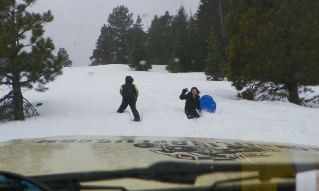 Sledding/Snow Wheeling Run at the Ahtanum State Forest 85