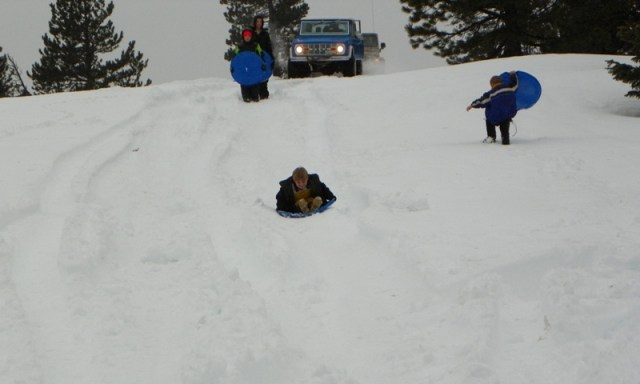Sledding/Snow Wheeling Run at the Ahtanum State Forest 88