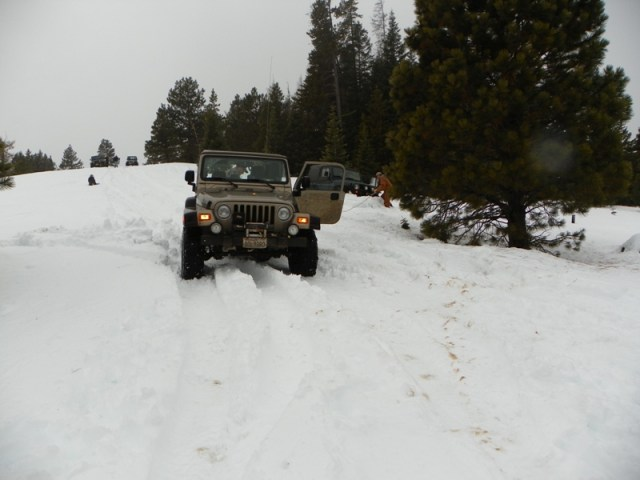 Sledding/Snow Wheeling Run at the Ahtanum State Forest 92
