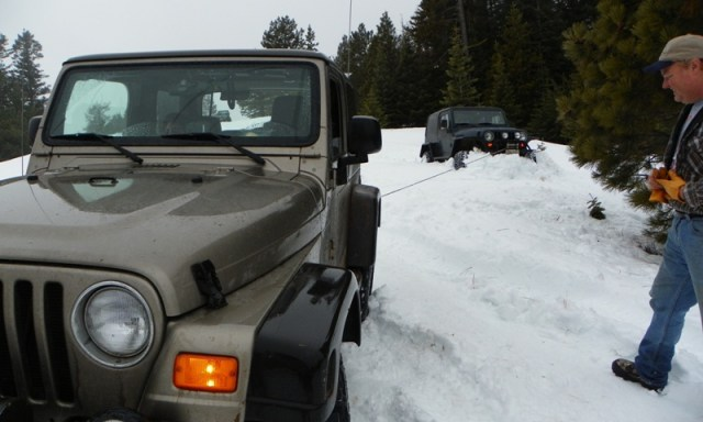 Sledding/Snow Wheeling Run at the Ahtanum State Forest 95