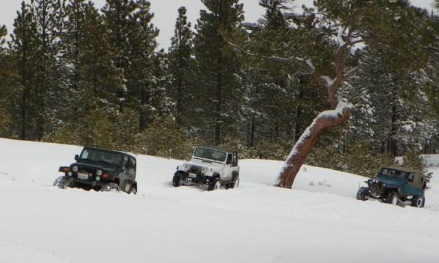 Peak Putters Cowiche Ridge Snow Wheeling 14